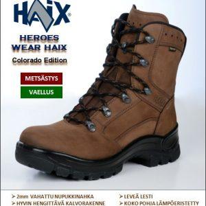 Metsästyskengät, HAIX Colorado Edition