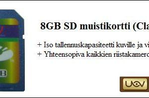 SD muistikortti riistakameroihin, Uovision 8GB