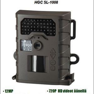 Riistakamera Home Guard Camera HGC SL1008, 12MP HD + audio, Inframusta salama