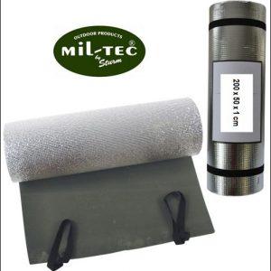 Makuualusta alumiinifolio eristeellä