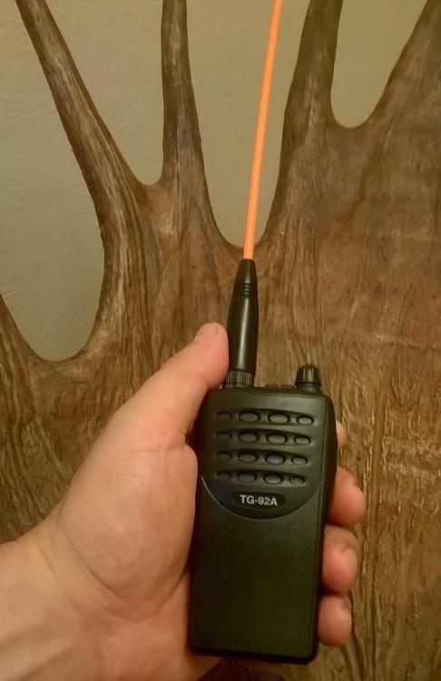 NITEforce VHF puhelin ja Oranssi tehoantenni