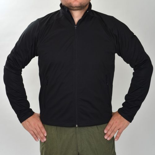 SoftShell takki musta