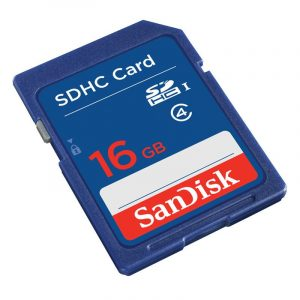 SD muistikortti 16GB SanDisk