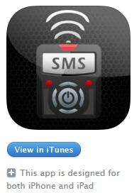 iOS SMS Remote APP