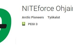 NITEforce ohjain