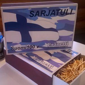 Tulitikkuaski Suomi100