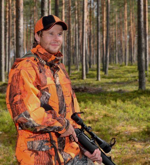 Dovrefjell Hunter Vision Pro Hirvioranssi takki
