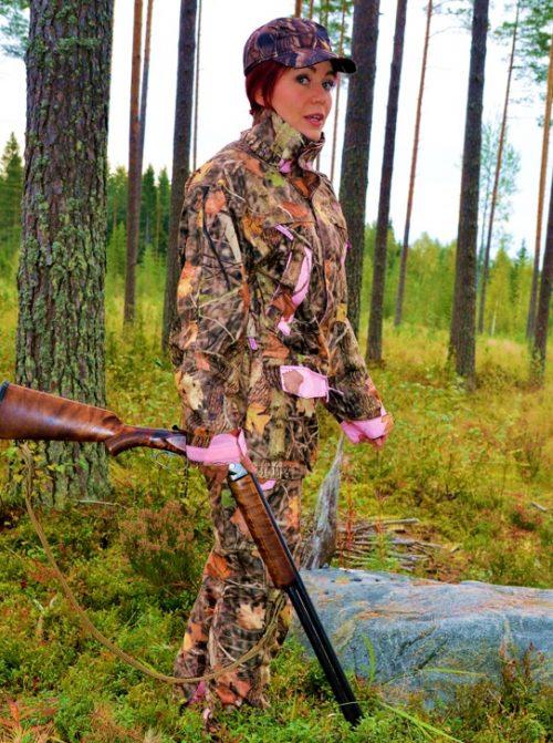 Dovrefjell Vision Pink jahtiasu naisille