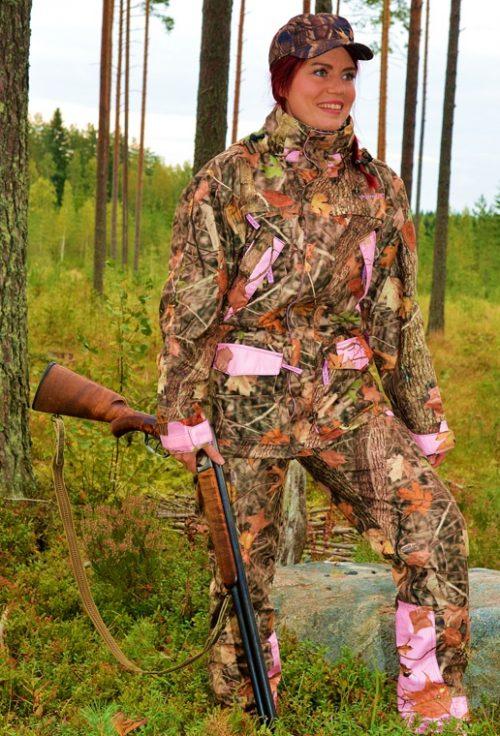 Dovrefjell Vision Pink naisten jahtiasu