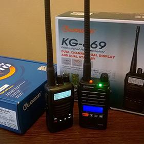 VHF puhelin ja tarvikkeet