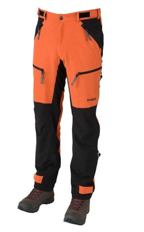 Dovrefjell Custom Fit ulkoiluhousut Sunset Orange