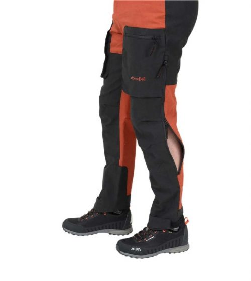 Dovrefjell X-Motion Cotton Stretch housut oranssi-musta