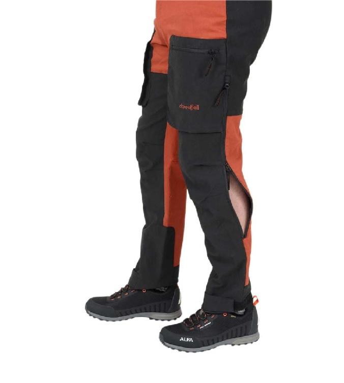 mustat stretch housut