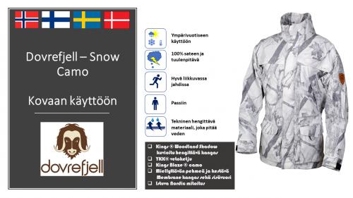 SnowCamo Dovrefjell