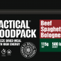 Tactical Foodpack Beef Spaghetti Bolognese