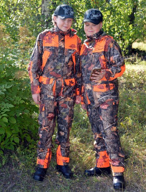 Dovrefjell Hunter Vision Pro lasten metsästyspuku (12v pojat kuvassa)