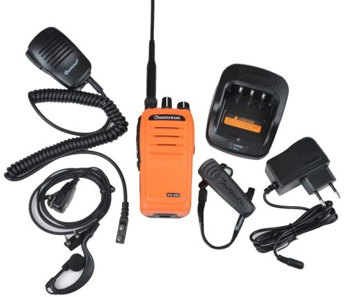Wouxun KG-959 VHF Orange Moose edition setti