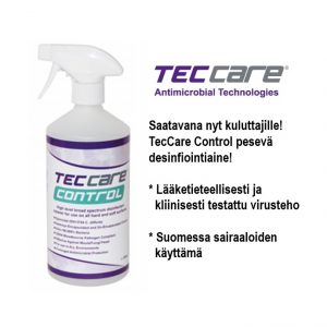 Desinfiointi ja puhdistusspray liuos 1000ml