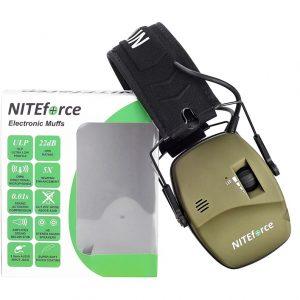 NITEforce SubSonic PRO Active Hear aktiivinen kuulosuojain