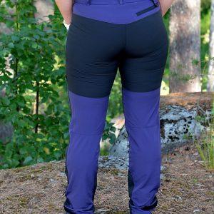 Dovrefjell Custom Fit Ulkoiluhousut Purple Grey