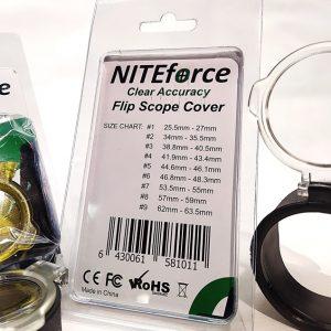 Linssisuoja NITEforce kokotaulukko