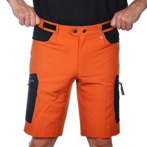 Dovrefjell Comfort Fit Shortsit Sunset Orange