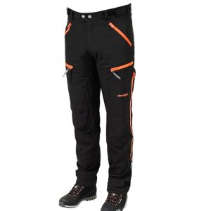 Dovrefjell Custom Fit Ulkoiluhousut Midnight Black