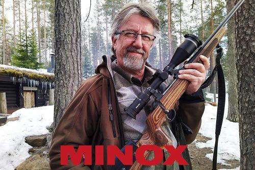 Juha Hirvi MINOX käyttäjä