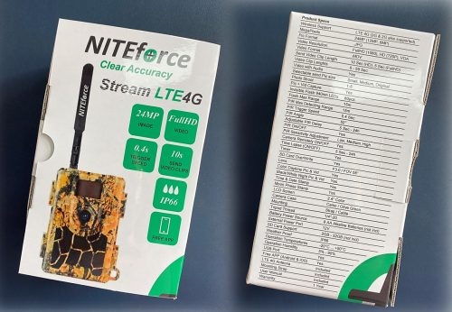 NITEforce Stream LTE 4G tuotepakkaus
