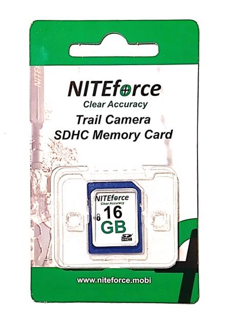 Riistakamera muistikortti NITEforce